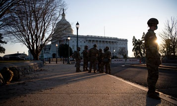 Army to conduct extra background screening on soldiers at Biden inauguration