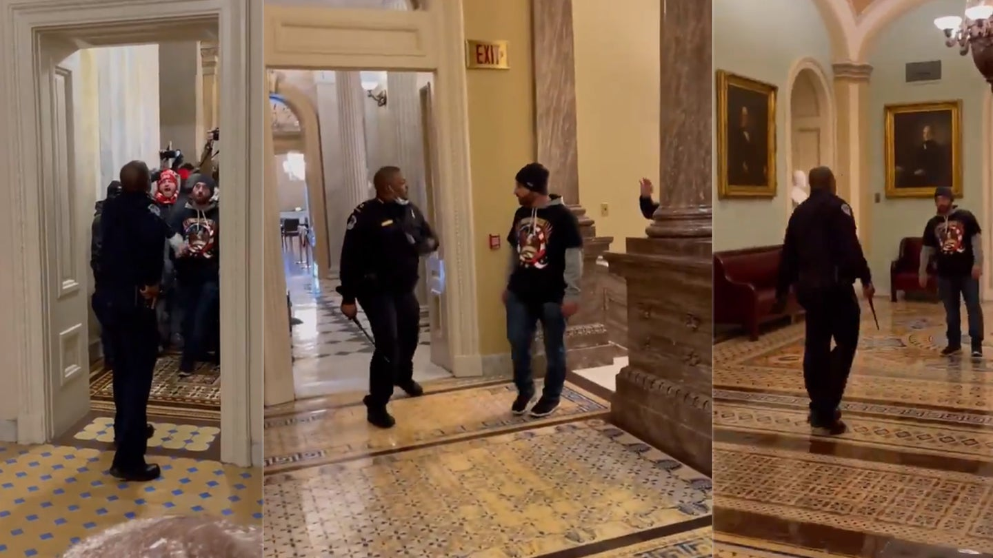 Police officer who faced down mob at Capitol is an Iraq War Army vet
