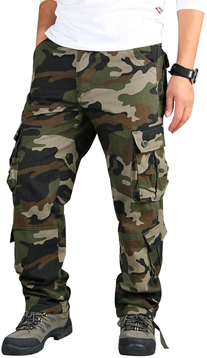 Zeeto Cargo Camo Pants