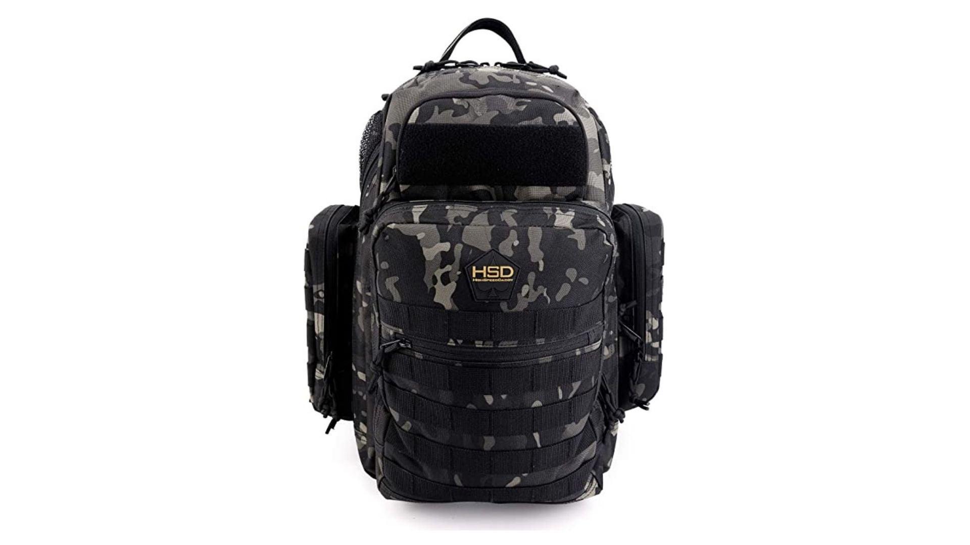 HighSpeedDaddy Diaper Bag Backpack