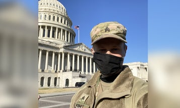 National Guardsman still teaching kids while protecting the Capitol: 'I'm dedicated to their success'