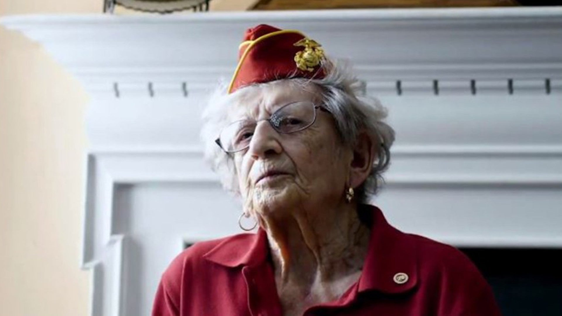 America's oldest living Marine, a trailblazer for women in the service, has died at 107