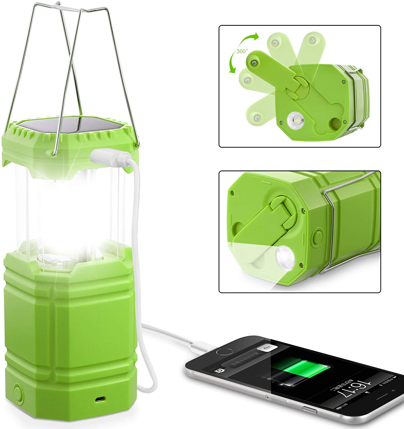 Holababy rechargeable lantern