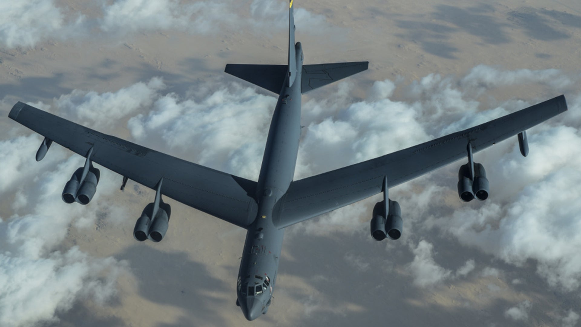 B-52s fly over Middle East in yet another display of force for Iran