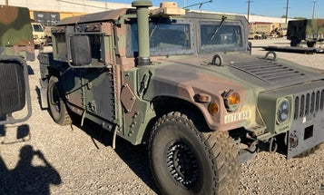 Dude, where's my Humvee? For real, the California National Guard needs your help finding it