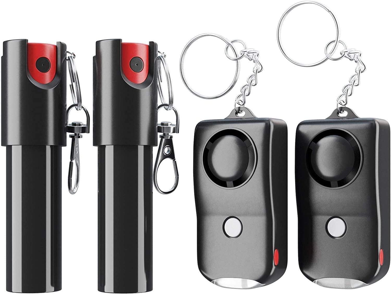 Armadillo Defense spray and alarm kit