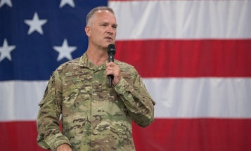 Air Force colonel who called suicide a 'chickensh-t way to go' has been nominated to become a 1-star