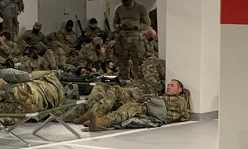 National Guardsmen moved out of Capitol parking garage after bipartisan outcry from lawmakers
