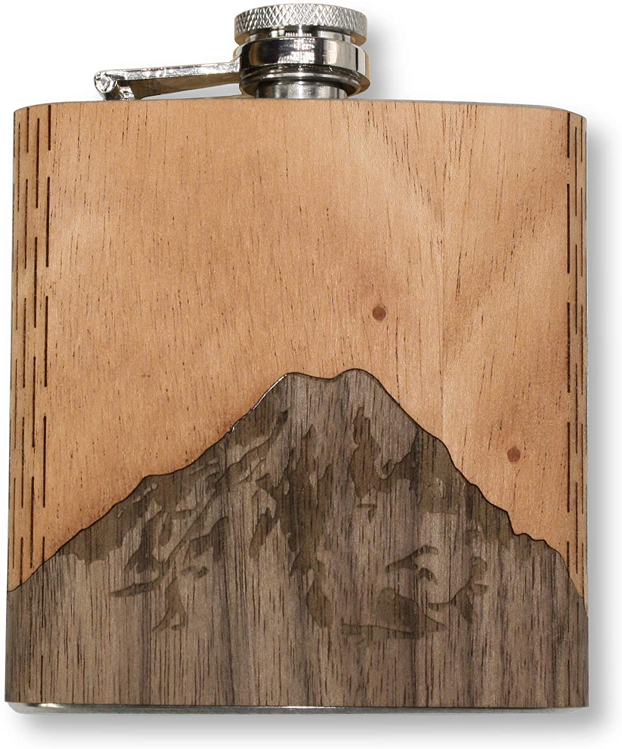 Wudn hip flask