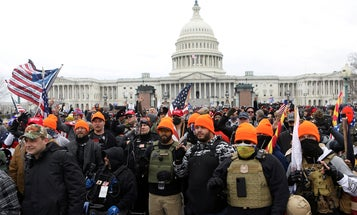 Nearly 1 in 5 Capitol rioters were military veterans: Report