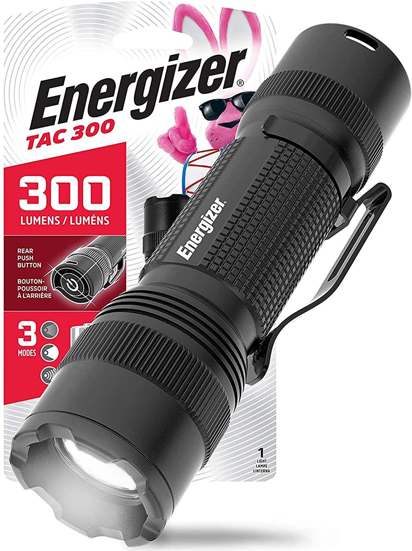 2-Energizer LED tactical flashlight
