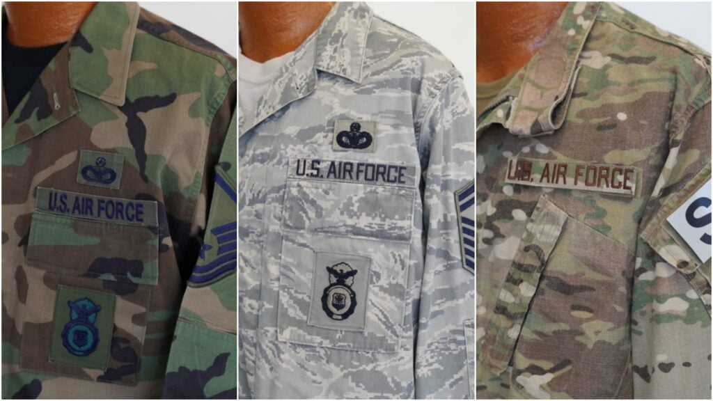 'An over-patterned couch' — Airmen can't wait to say goodbye forever to their tiger stripe ABUs