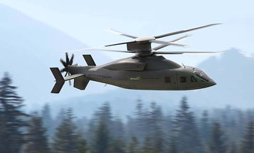 This futuristic twin-blade helicopter may be the Army's replacement for the iconic Black Hawk