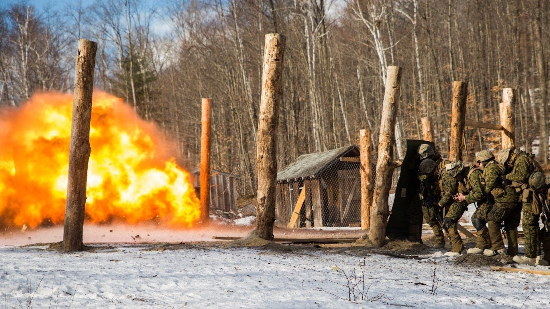 The Marine Corps is on the hunt for a next-generation fire-resistant combat utility uniform