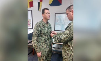 Destroyer captain fired for allegedly trying to turn a captured AK-47 into a plaque for his ship