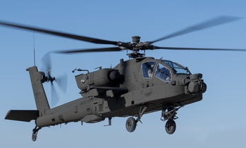 The Army just got its hands on its most advanced Apache helicopter yet