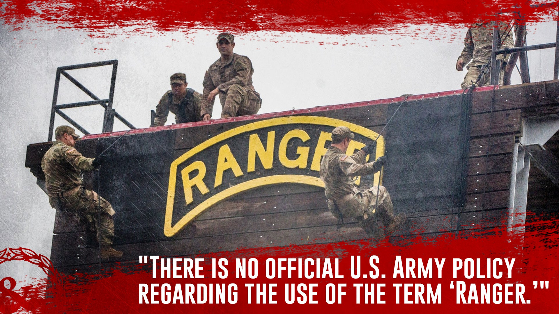 The Army can't officially say who is an 'Army Ranger'