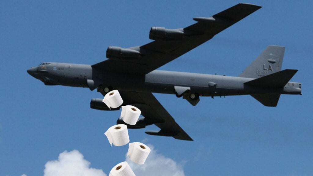 The Air Force wants privacy curtains so you can poo while you B-52
