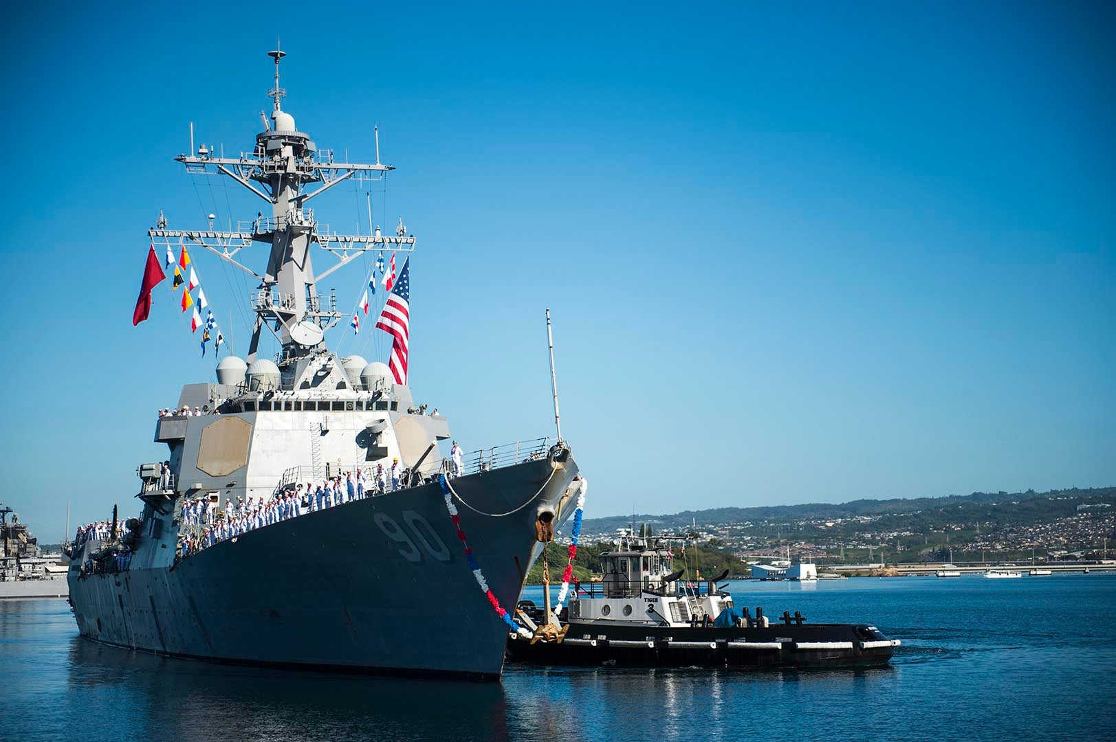 Hundreds of sailors from the USS Chafee moved off the ship due to a serious COVID-19 outbreak