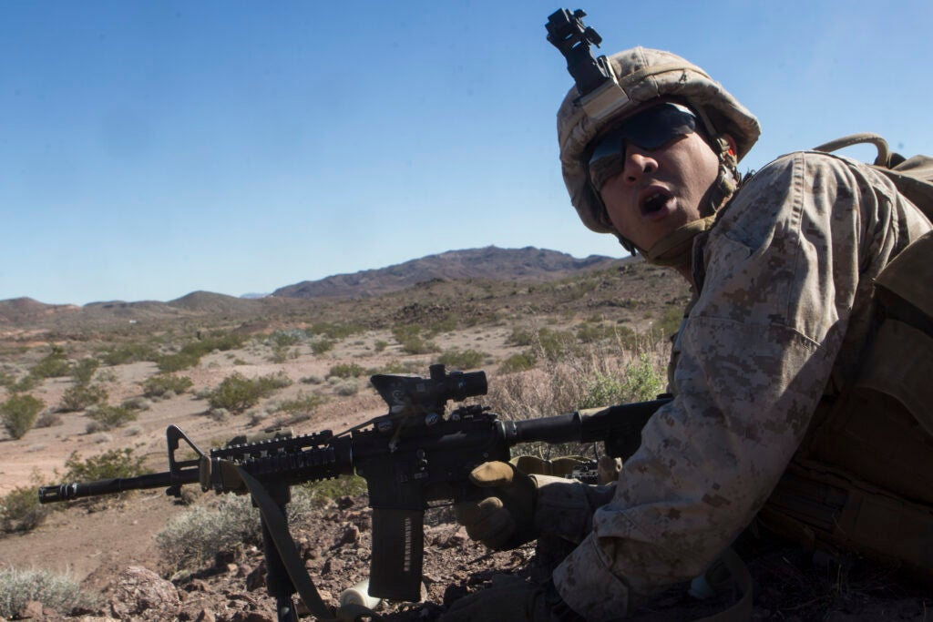 Marine Corps says goodbye to its storied 8th Marine Regiment