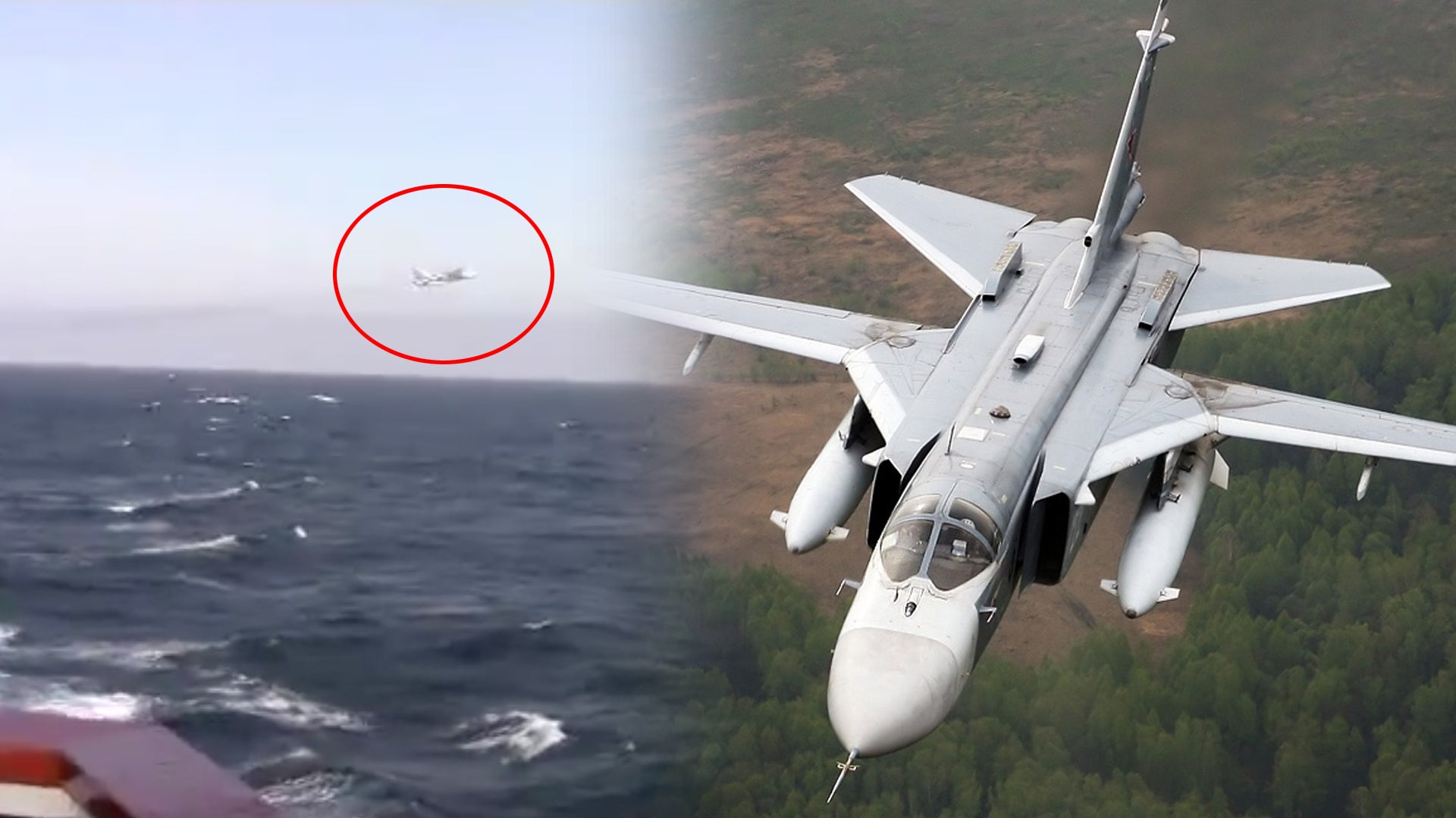 Russian fighter jet buzzes USS Donald Cook in the Black Sea [Updated]