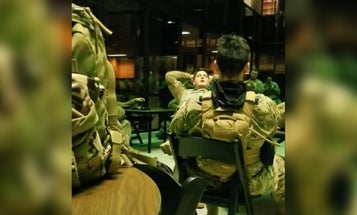 These soldiers singing inside the Library of Congress will give you chills