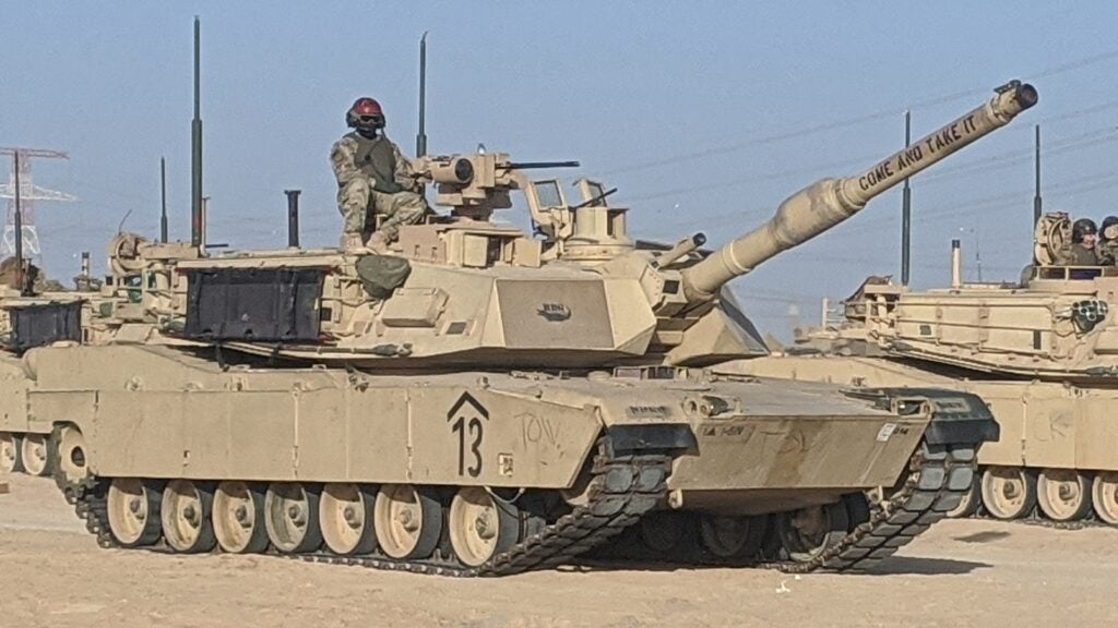 We salute the Army crew who named their tank 'Come And Take It'