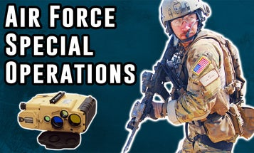 How do Air Force special operations work behind enemy lines?