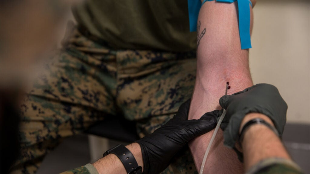 Navy adopts battlefield blood transfusion technique from the Army Rangers