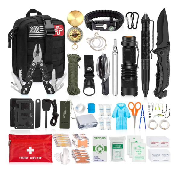 Aokiwo emergency survival kit