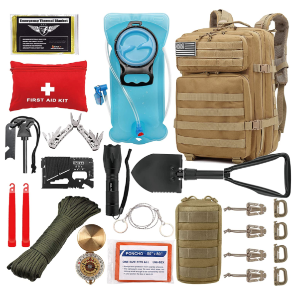 Everlit tactical survival kit