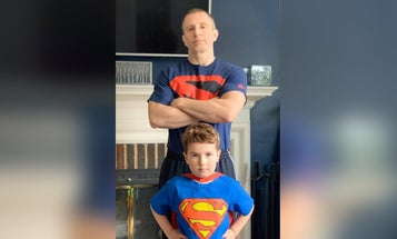 Meet the soldier who's going to write the next 'Superman' comic