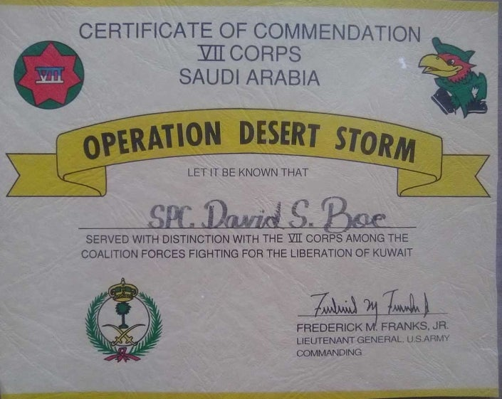 'Halt, or I'll shoot' — An Army veteran reflects on Operation Desert Storm