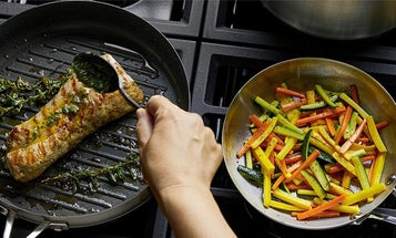 Release your inner chef with this stainless steel cookware