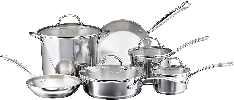 Farberware Millennium Stainless Steel Cookware Set