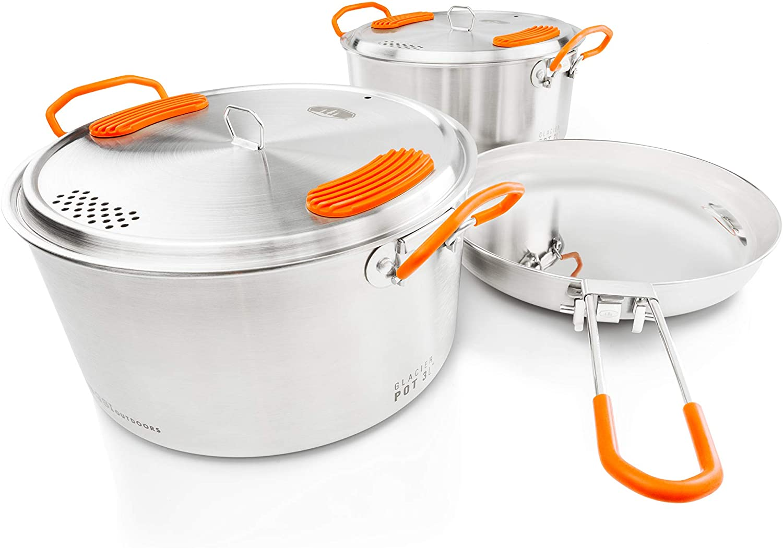GSI Outdoors Glacier camping cookware set