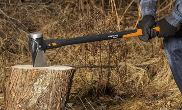 Roll up your flannel and grab one of the best wood-splitting mauls