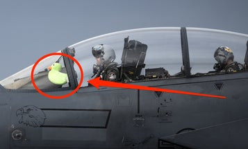 Military pilots, show us the lucky charms you fly with! (we know you're out there!)