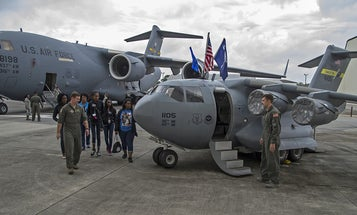 Meet the Air Force's most adorable aircraft: the mini C-17