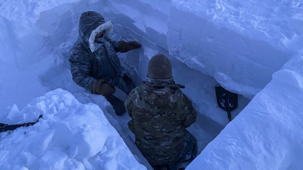50-mile winds and bone-chilling temperatures: Welcome to the military's Arctic survival school