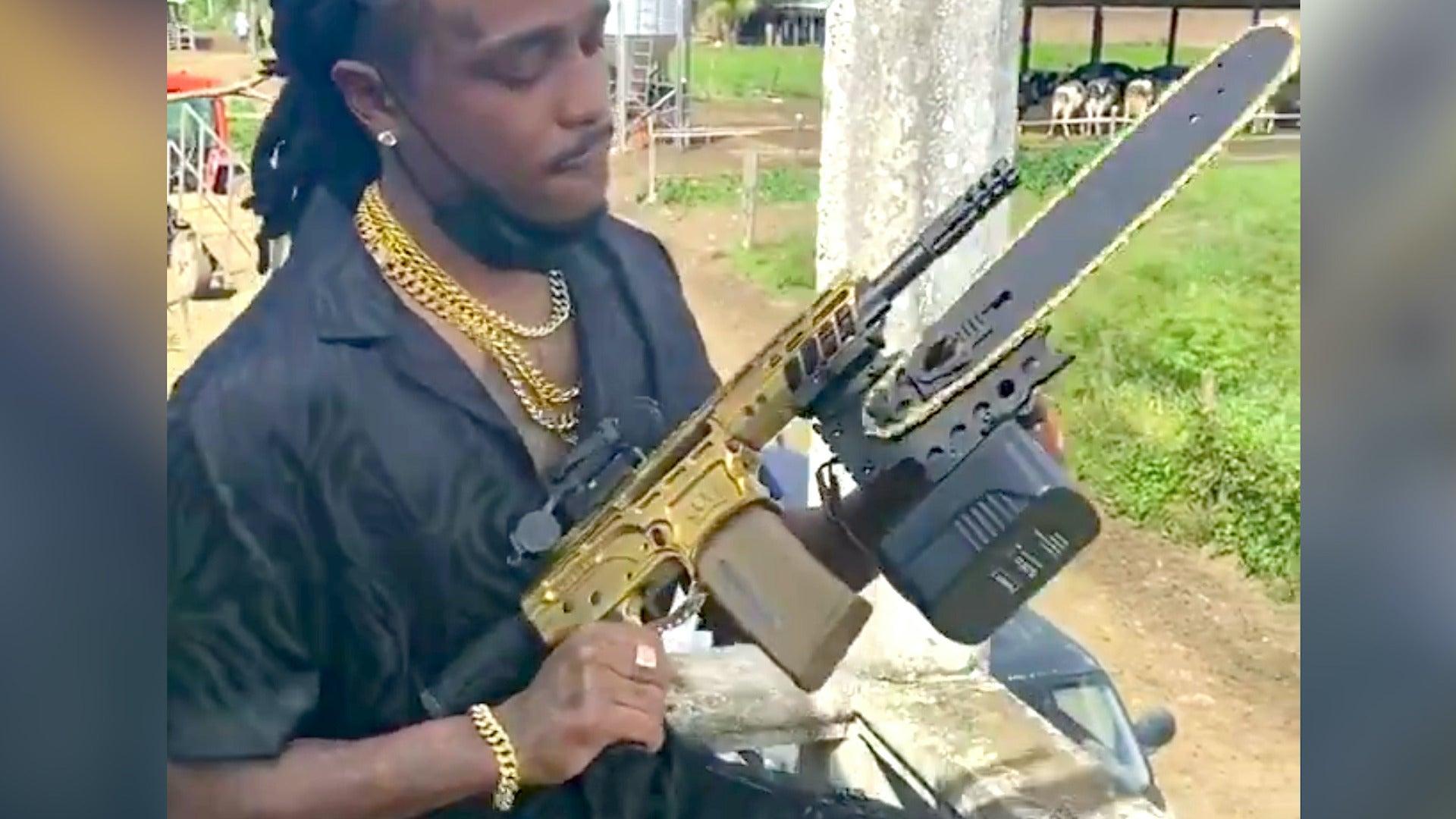 quavo chainsaw bayonet attachment