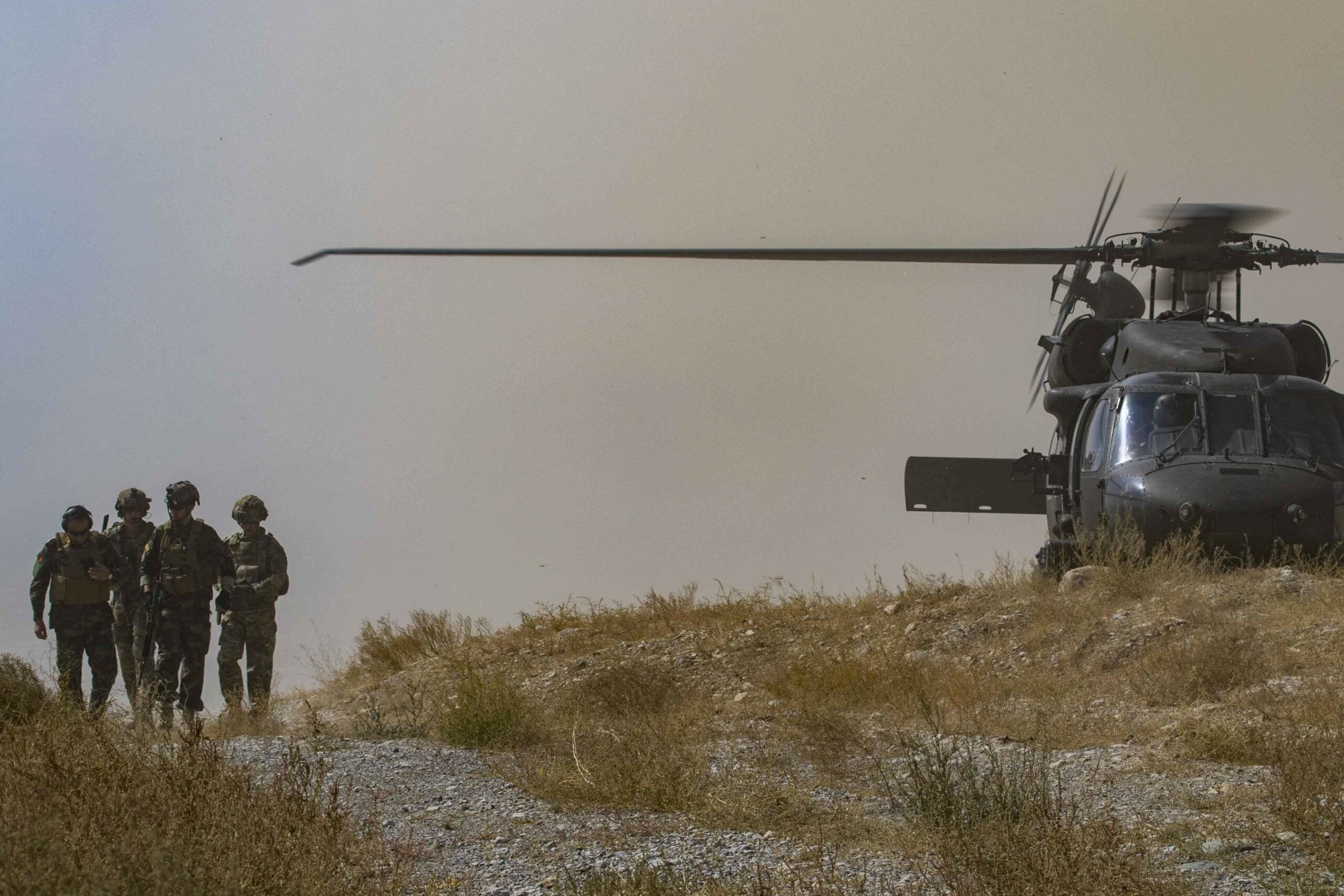 aghanistan helicopter