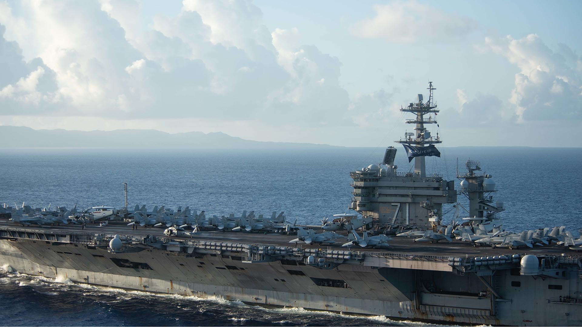 3 sailors aboard the USS Theodore Roosevelt test positive for COVID-19