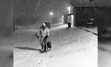 Photo from Texas blizzard looks like it was taken during an old-timey arctic expedition