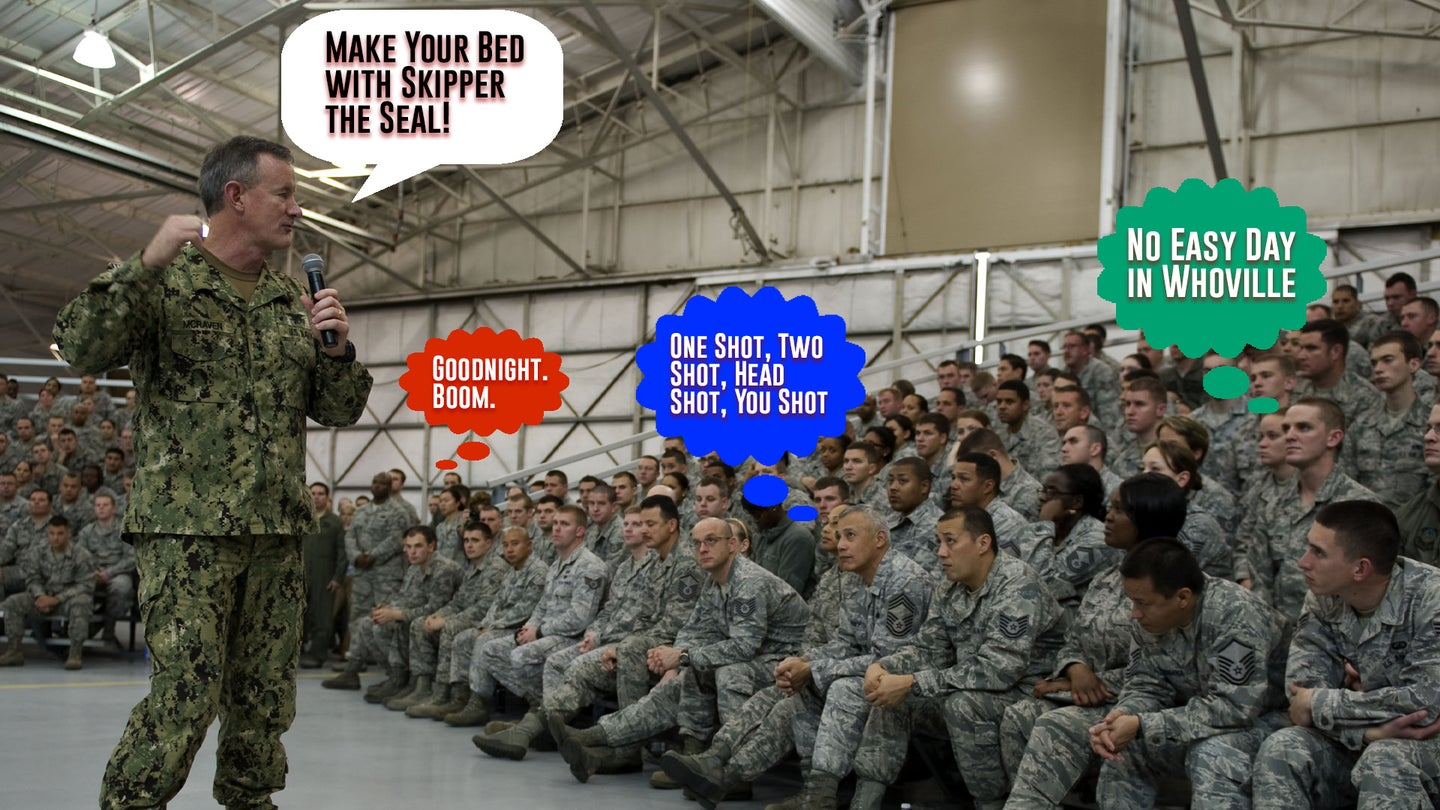 No Easy Day in Whoville,' 'Goodnight, Boom' and other potential titles for Adm. William McRaven's new children's book
