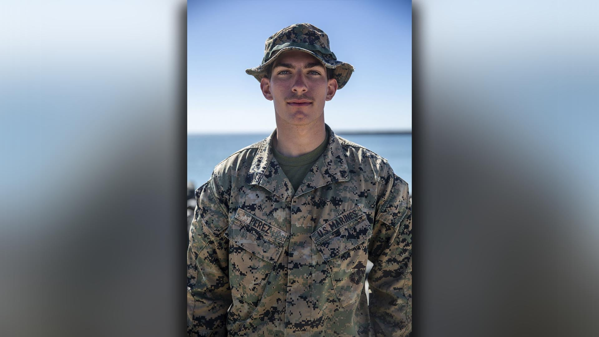 Marine recognized for saving drowning couple from rough waters in California