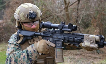 Marines are getting their hands on a brand new rifle optic