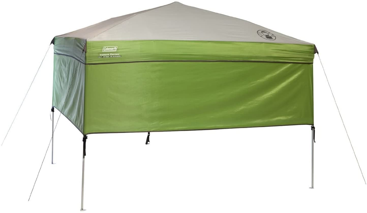 Coleman instant canopy sunwall