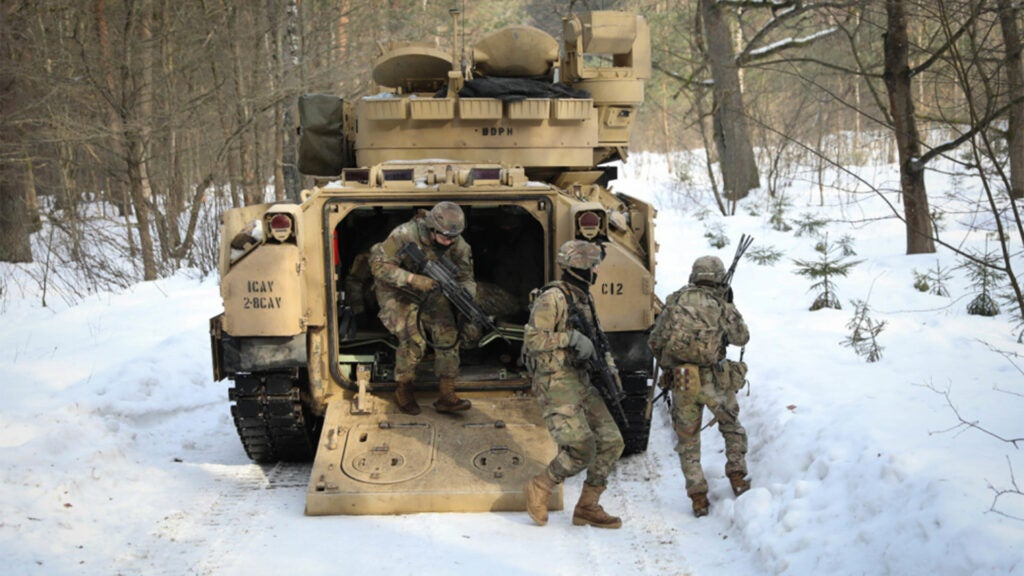 US troops just got their asses handed to them by Lithuanian infantrymen