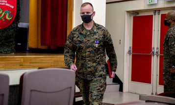 Why it took 16 years for this Marine to finally receive his Purple Heart